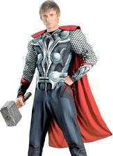 Marvel The Avengers Deluxe Adult THOR Costume W/ MUSCLES * XL 42-46, XXL 50-52 *