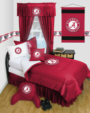 ALABAMA CRIMSON TIDE LOCKER ROOM COMPLETE BEDDING SET - 003580-SET