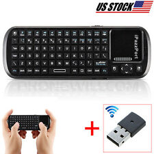 Combo Wireless HTPC Keyboard And TouchPad Mouse For SHARP SMART TV Supported
