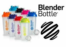 BLENDER BOTTLE CLASSIC 28 oz SHAKER LARGE MIXER PROTEIN WIRE WHISK BALL NEW