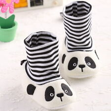 2014 New Cute Panda Soft Sole Toddler  Baby Socks  Shoes For 3-6 6-12 12-18month