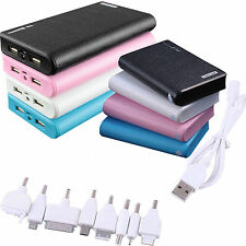50000 / 30000mAh External Power Bank Backup Dual USB Battery Charger F. Iphone 6