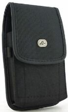 New Rugged Vertical Vinyl Belt Clip Holster Pouch Case for Large Cell Phones