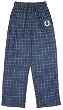NFL Football Youth Indianapolis Colts Plaid Pajama Pants - Blue