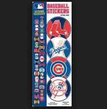 MLB Logo Stickers