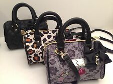 Betsey Johnson *Mini* Crossbody Bag ~ Rose Skull or Black Heart or Leopard *New