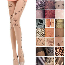 Trendy Patterned Tights Sexy Ladies Stockings Womens Sexy Fishnet Pantyhose