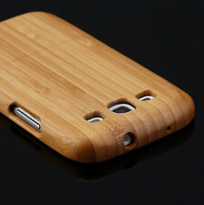 Genuine Real Natural Wood Wooden Back Case cover for Samsung Galaxy S3 i9300