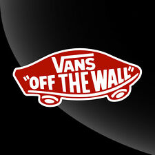 Vans Off The Wall Decal Sticker - 15 COLOR OPTIONS - 7 SIZES
