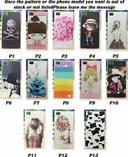 For MIUI Xiaomi M3 MI3 Soft TPU Cartoon Painted Skull Sexy Lady Girl Cover Case