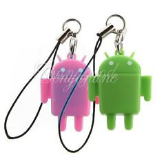 Lovely High-Speed Android Robot USB 2.0 TF Micro SD TF Card Reader& Keychain