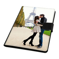 """Personalised Universal 7"""" Tablet Leather Flip Case Cover Custom Create Your Own"""