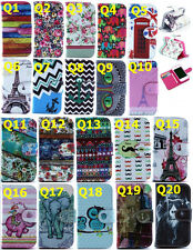 Q20 FASHIONABLE PRINTING LEATHER FLIP WALLET CASE COVER SKIN FOR VARIOUS MOBIL