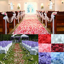 100pcs Stylish Silk Rose Flower Petals Leaves Wedding Party Table Decorations