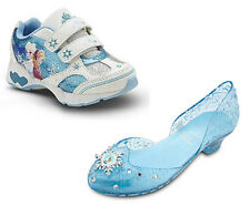 Disney Store FROZEN Elsa & Anna Girls LIGHT-UP Costume Dress Shoes OR Sneakers