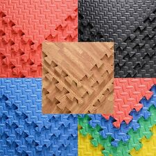 48 Sq Ft EVA Foam Floor Interlocking Mat Show Floor Garage Gym Mat 5 Color New