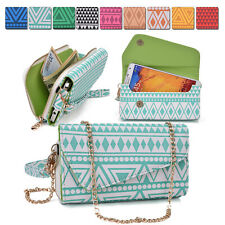 Ladies Smart-Phone Phablet Convertible Clutch Wrist-let Shoulder Purse Bag XL5