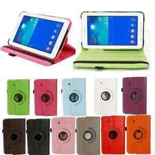 Multi Colors 360°Rotating Leather Case Cover for Samsung Galaxy Tab 3 7.0 T110