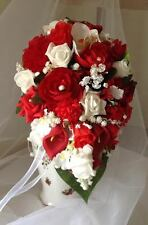 Beautiful Teardrop Shaped Bridal Bouquets in Various Colours