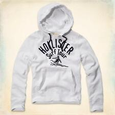 Hollister by Abercrombie Men's White Bluffs Beach Pullover Hoodie M, L & XL NWT