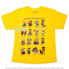 New Yellow Jinx Minecraft Career Opportunities Licensed T-shirt