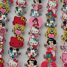 Wholesale lot 50pcs Fashion cartoon characters Children's/kids resin rings HOT!!