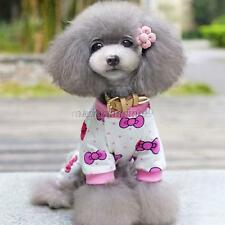 Soft Cotton Jumpsuit Pajamas Puppy New Shirt Apparel Pet Dog Cartoon Pattern