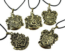 The Harry Porter Magic School And Four Branch Cchool Badge Pendant Necklace