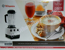 Vitamix 6300 Pro 500 Blender Plus Recipe Book, DVD, Tamper with 7 year Warranty