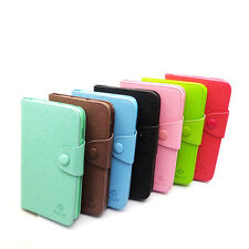 FL Card Flip Wallet Leather Case TPU Cover For i9220 Galaxy Note N7000 Samsung
