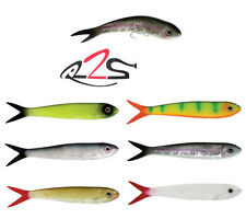 "RIVER2SEA LARRY DAHLBERG MR. WHIGGLEY SWIMBAIT 10 1/2"" 2 PACK choose colors"