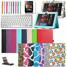 """Wireless Bluetooth Keyboard Folio PU Leather Case Cover for Kindle fire HD 8.9"""""""