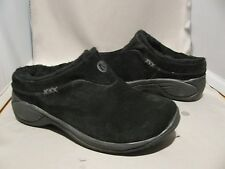 NEW Merrell Encore Ice Black Suede shearling winter J66602 clogs shoes  $110
