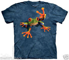 Victory Frog 3118 Mountain Tshirt tree peace funny jungle amphibian toad red eye