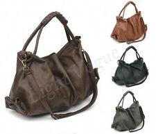 Fashion Women Lady Hobo Leather Messenger Handbag Shoulder Bag Purse Tote bags