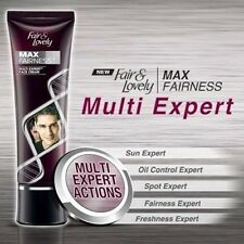 Fair & Lovely Max Fairness Multi Expert Face Cream for Men Whitening 25g & 50g.