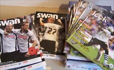 Swansea City Home Programmes Various Dates and Teams 2000's