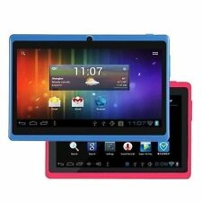 Q88 Cheap Tablet A23 7.0 Inch TFT Capacitive Android 4.2 512MB 4G Blue Pink