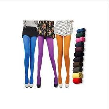 New Candy Color Opaque Tights Pantyhose Colors Stockings