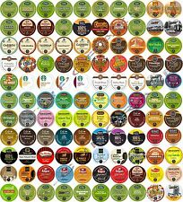 K-CUPS COFFEE & TEA VARIETY* *CREATE YOUR OWN VARIETY K-CUP PACKAGE 150+ KCUPS