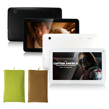 "8"" Tablet Quad Core 1024*768 HD HDMI Android 4.2 Dual Cam 1G+8GB WIFI+Pouch Bag"
