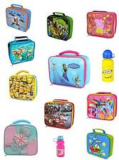 CHILDREN'S CHARACTER LUNCH BAGS/ BOTTLES ETC - VARIOUS CHARACTERS - NEW