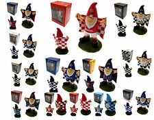 FOOTBALL FC CLUB MINI GARDEN FLAG GNOME TEAM SUPPORTER FARTHERS DAY BOXED GIFT