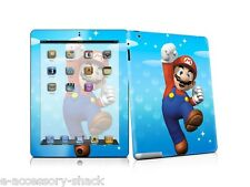 Mario Protector Skin Cover Laminate Sticker Decal For (iPad 2) Apple