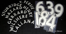 Official Premier League Child youth Football Shirt Printing any name/number