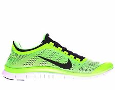 NIKE FREE 3.0 V5 Voltage Green Lightweight Running Trainers