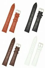 Condor Padded Alligator Grain Leather Watch Strap With Buckle 320R
