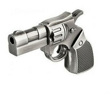 New gift Metal Revolver Gun Model USB 2.0 Flash Memory Stick Pen Drive 4GB-32GB