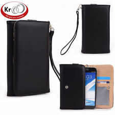 Kroo Clutch Wristlet Wallet with Card slots for Samsung Galaxy Note II 2 N7100