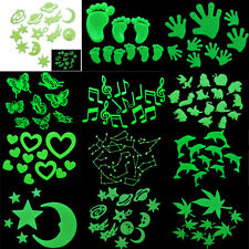 Home Wall Glow In The Dark Stickers Decals Baby Kid Bedroom Nursery Room Decor